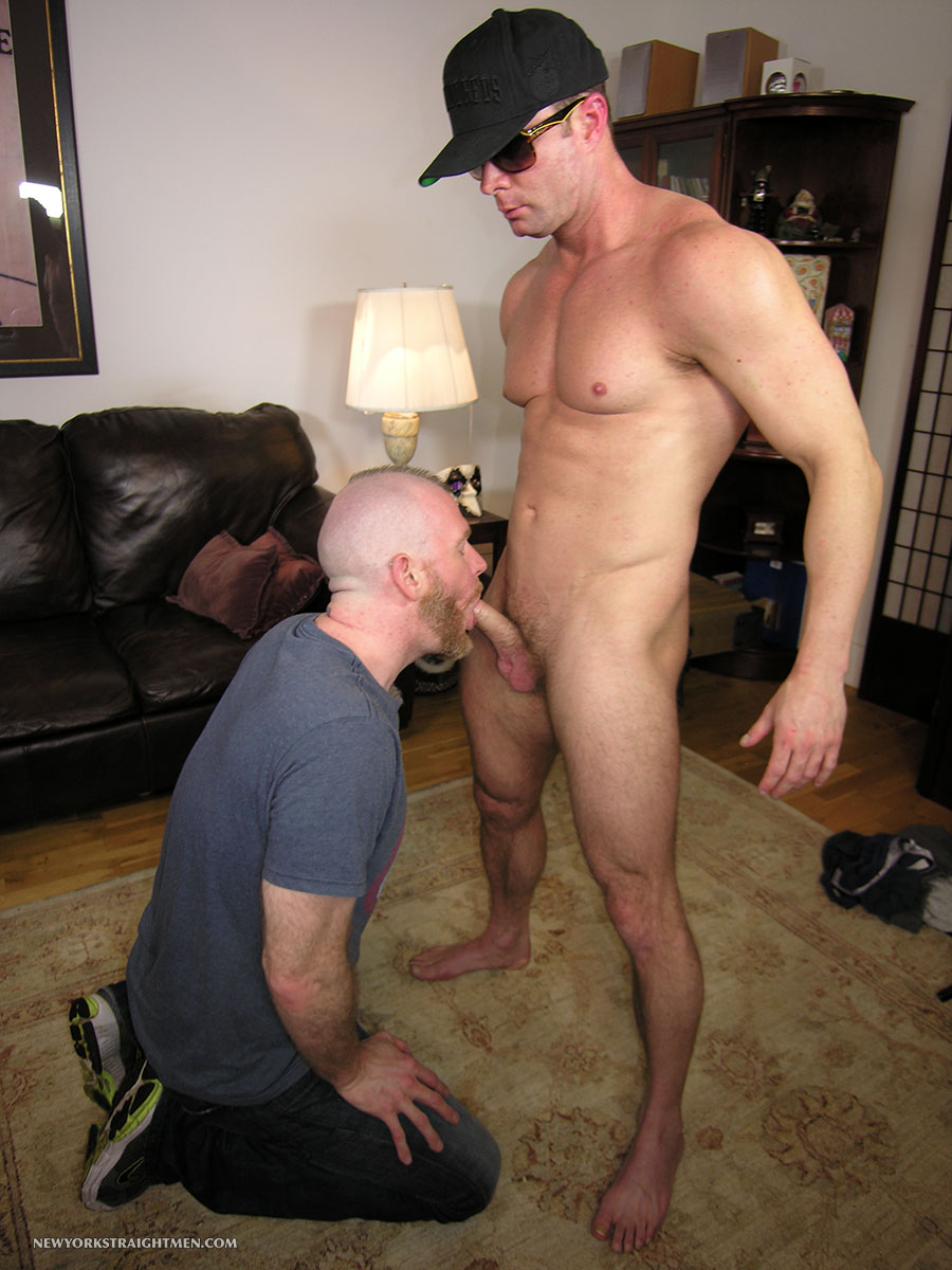 New York Straight Men Officer T and Sean Straight Guy Getting Cock Sucked By A Gay Guy Amateur Gay Porn 12 Hidden Cam: Parole Officer Bareback Fucks his Parolee