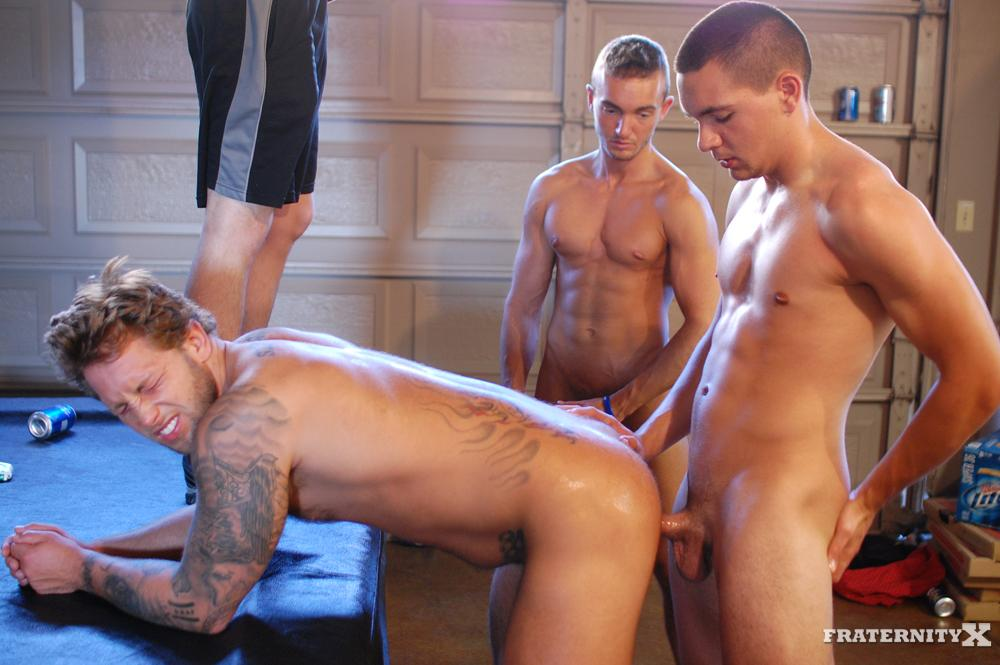 Fraternity X Carter and Grant and Kyle Amateur Fraternity Barebacking Gay Porn 18 Passed Out Fraternity Boy Gets Barebacked By His Frat Brothers