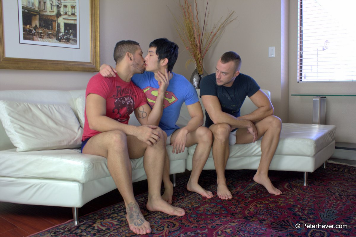 porn guys and White asian gay