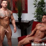 Muscle Hunks Jackson Gunn and Caleb del Gatto Amateur Wrestle In Jock Straps and Jerk Off Amateur Gay Porn 13 150x150 Amateur Straight Bodybuilders Wrestle In Jock Straps and Bust A Nut Together