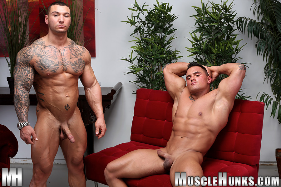 Muscle-Hunks-Jackson-Gunn-and-Caleb-del-Gatto-Amateur-Wrestle-In-Jock-Straps-and-Jerk-Off-Amateur-Gay-Porn-15 Amateur Straight Bodybuilders Wrestle In Jock Straps and Bust A Nut Together