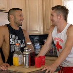 Peter Fever Dayton OConnor and Diego Vena Amatuer Muscle Guys Fucking Amateur Gay Porn 02 150x150 Two Horny Amateur Muscle Buddies Fucking In The Kitchen
