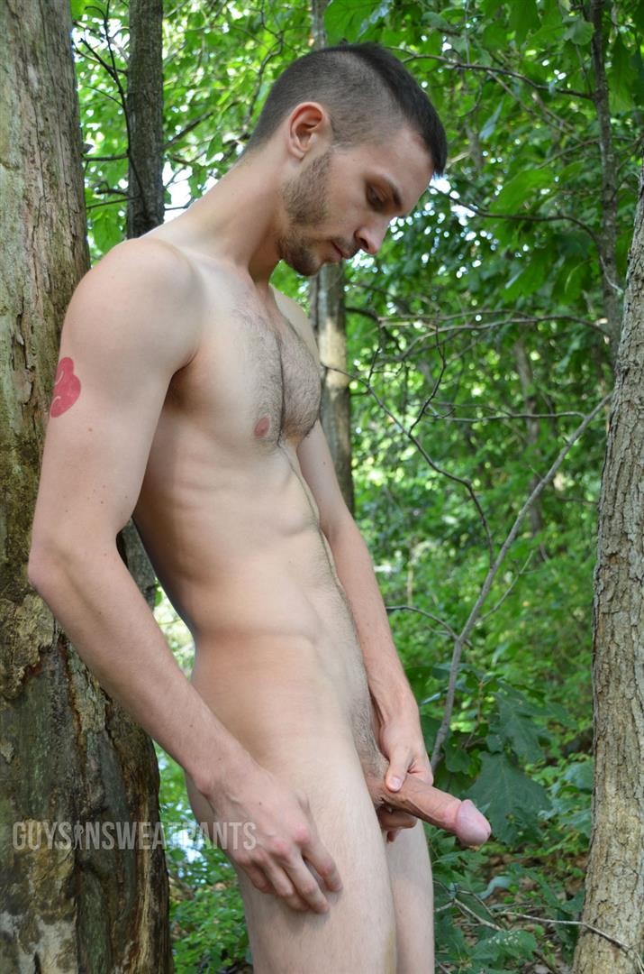 hot guys fucking wanking outdoor