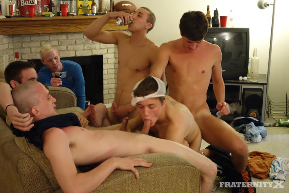 college big cock gangbang - ... FraternityX-Frat-Boys-With-Big-Cocks-Bareback-Gangbang- ...