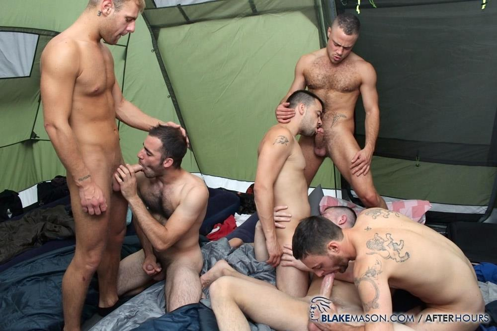 Blake-Mason-Kai-Bradley-S-Bishop-Matt-Brookes-Fraser-Riley-Tess-Josh-Jared-Uncut-Cock-Orgy-Amateur-Gay-Porn-09 Amateur Hung Uncut Guys Have An Outdoor Orgy Camping In A Tent