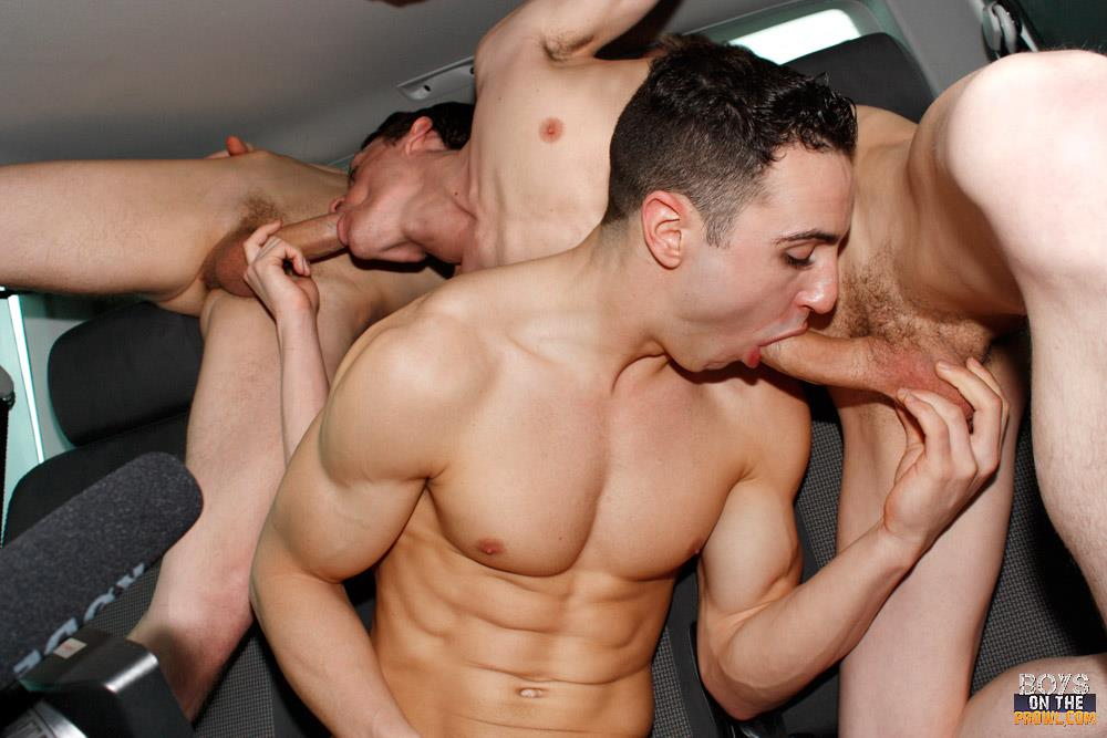 Like all positions two guys bareback drilling fun, energetic, and