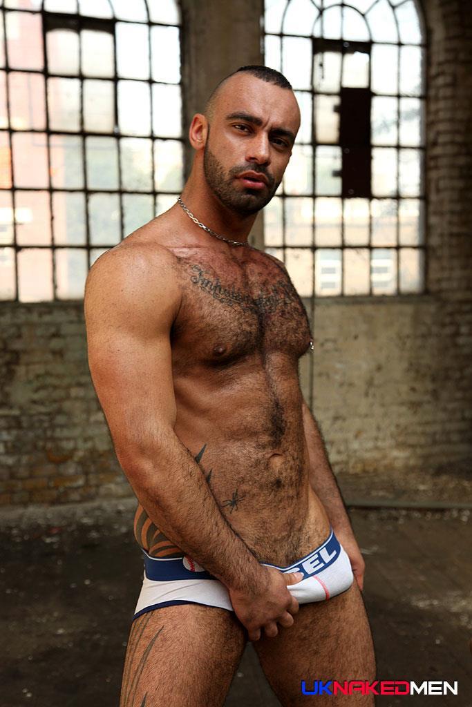 Lebanese Hairy Web Dude