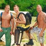 Visconti-Triplets-Jason-Visconti-Jimmy-Visconti-Joey-Visconti-Giuseppe-Pardi-Fucking-During-A-Camping-Trip-Amateur-Gay-Porn-01-150x150 Visconti Triplets Tag Team Some Muscle Ass While Camping