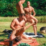 Visconti-Triplets-Jason-Visconti-Jimmy-Visconti-Joey-Visconti-Giuseppe-Pardi-Fucking-During-A-Camping-Trip-Amateur-Gay-Porn-51-150x150 Visconti Triplets Tag Team Some Muscle Ass While Camping