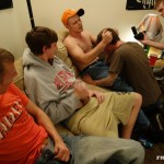 Fraternity X Chris Frat Guys Barebacking and Eating Cum Amateur Gay Porn 04 150x150 Frat Guys Barebacking The Frat Slut And Feeding Him Cum