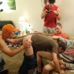 Fraternity X Chris Frat Guys Barebacking and Eating Cum Amateur Gay Porn 05 150x150 Frat Guys Barebacking The Frat Slut And Feeding Him Cum