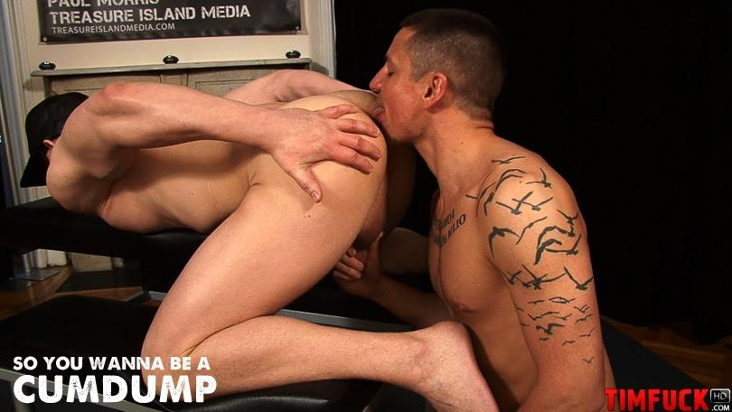 New Series From Treasure Island Media:  So You Wanna Be A Cumdump?