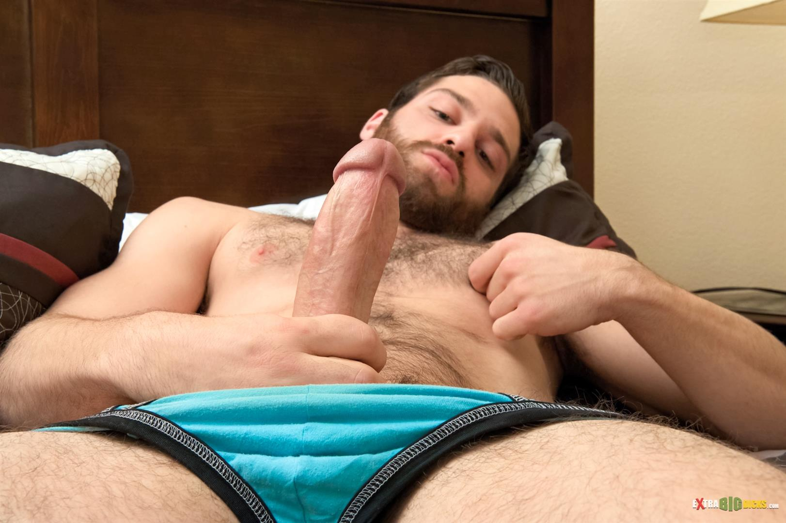 gay cock jacking off