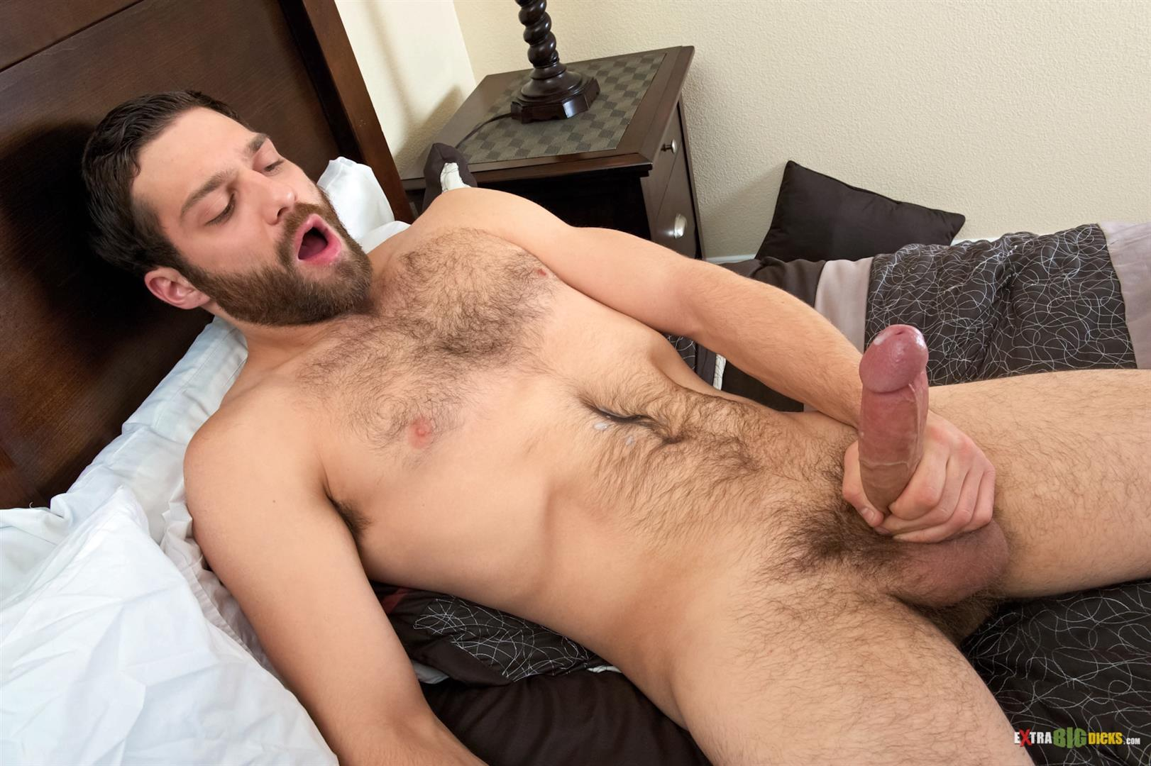 Teen tristan tugs big dick