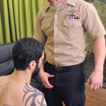 All American Heroes PRIVATE ANTONIO AND NAVY CORPSMAN LOGAN Military Guys Sucking Cock Amateur Gay Porn 03 150x150 US Navy Corpsman Trades Blowjobs With A British Army Private