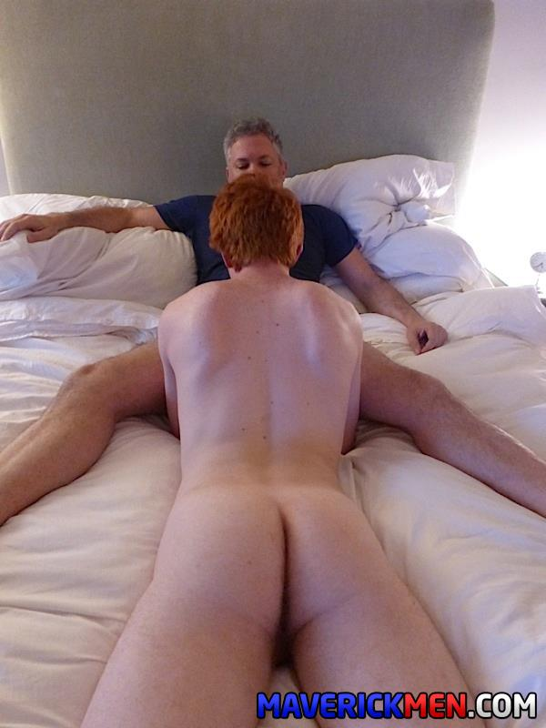 Maverick Men Hunter Josh Big Cock Daddys Fucking Ginger Redhead Amateur Gay Porn 19 Young Virgin Ginger Twink Gets Two Thick Daddy Cocks Bareback