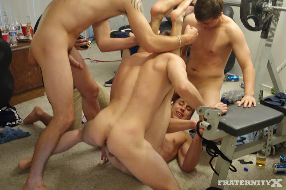 Fraternity X Frat Guys With Big Cocks Bareback Orgy Amateur Gay Porn 03 Straight Drunk Fraternity Guys Tag Team Barebacking Freshman Ass