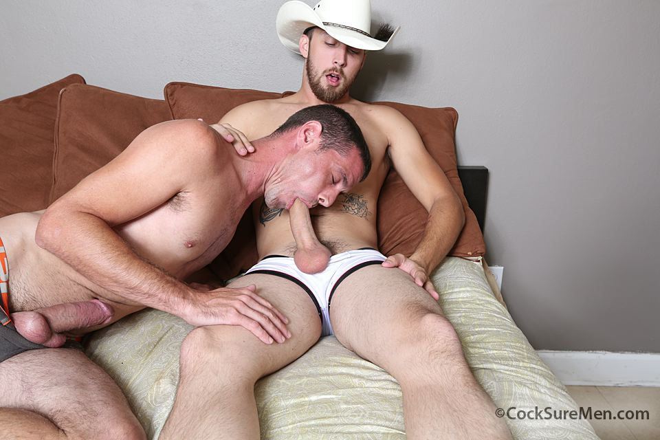 Cowboys Outdoors Fucking Cumshot