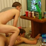 Fraternity X Brad Frat Guys With Big Cocks Fucking Bareback Amateur Gay Porn 09 150x150 Stoned and Drunk Frat Guys Bareback Gang Bang A Freshman Ass
