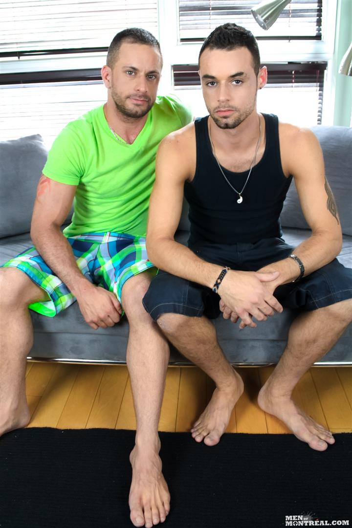 Men of Montreal Brad Rioux and Marco Gagnon Big Uncut Cock Hairy Guys Fucking Amateur Gay Porn 01 Big Uncut Cock Hairy Muscle Guys Flip Flop Fucking