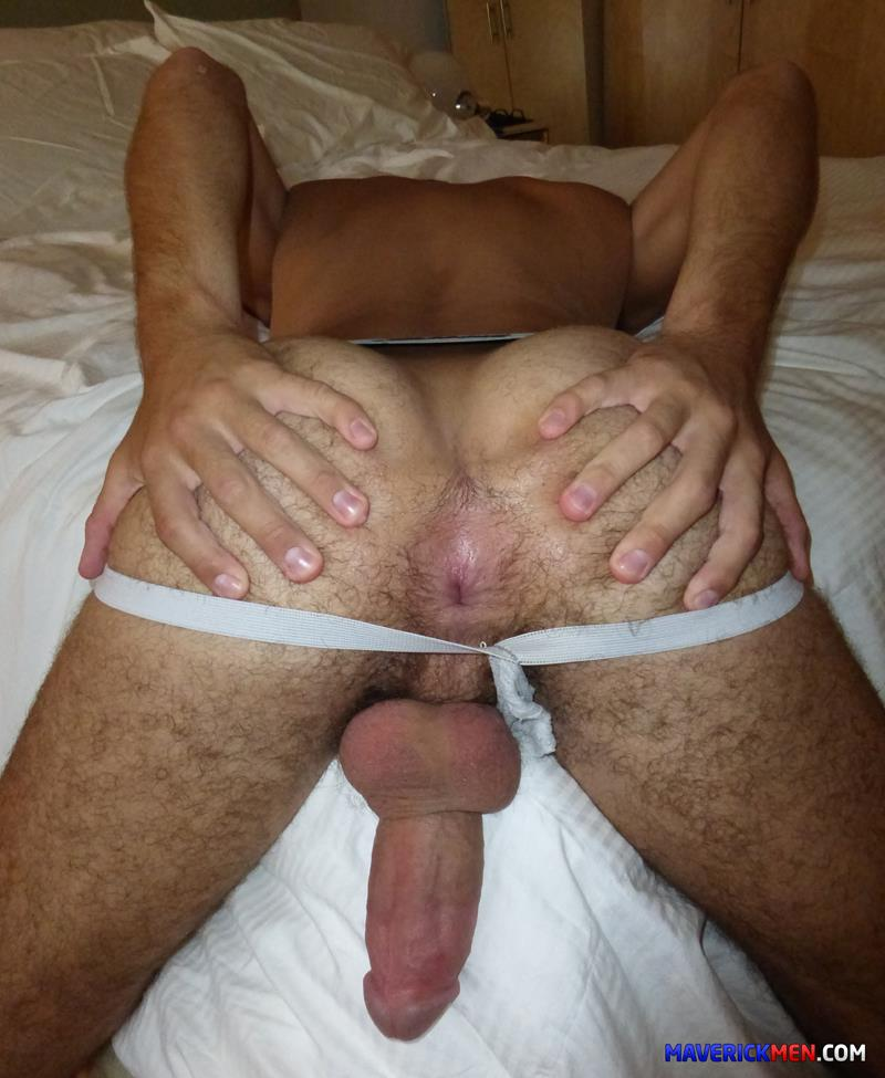 Hairy bareback gay fuck in the ass