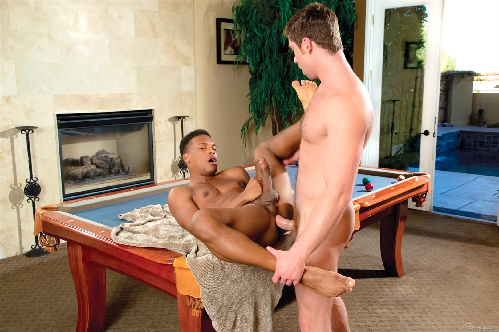Falcon Studios Connor Maguire and Adrian Hart White Guy Fucking A Black Guy With A Big Cock Amateur Gay Porn 13 Hunk Connor Maguire Fucking A Black Guy With A Huge Cock