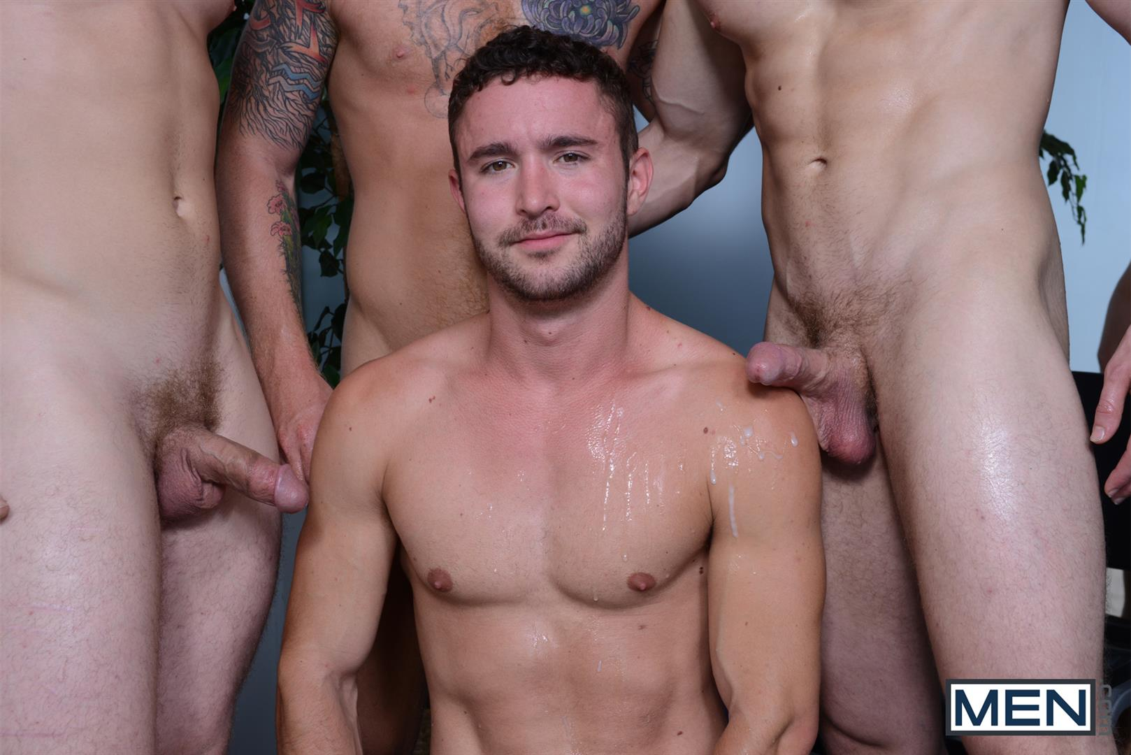 Men-Jizz-Orgy-Swingers-Bennett-Anthony-and-Cameron-Foster-and-Colt-Rivers-and-Tom-Faulk-Fucking-Bathroom-Amateur-Gay-Porn-37 Hung Golfing Buddies Fucking In The Bathroom and Clubhouse