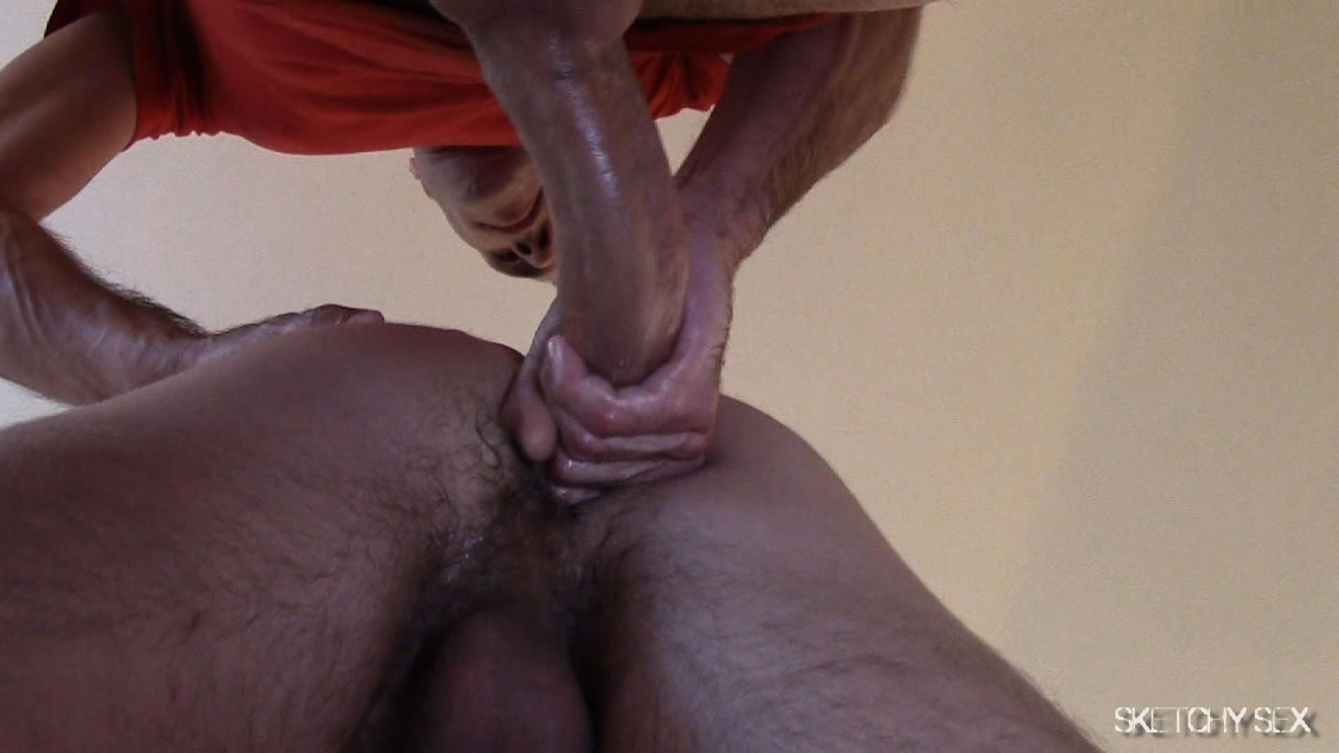 Sketchy-Sex-Nate-Getting-Fucked-Bareback-By-A-10-Inch-Craigslist-Cock-Amateur-Gay-Porn-08 Taking A 10