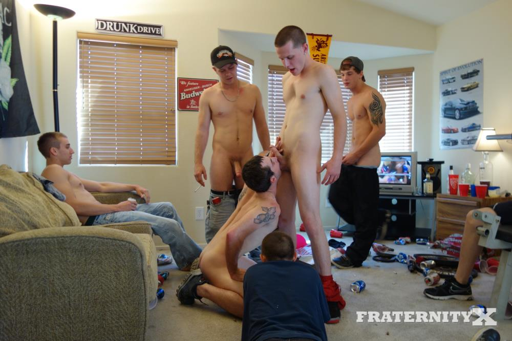 Fraternity X Straight Frat Guys With Big Cocks Barebacking A Tight Ass Amateur Gay Porn 31 Straight Frat Guys Barebacking A Tight Freshman Ass