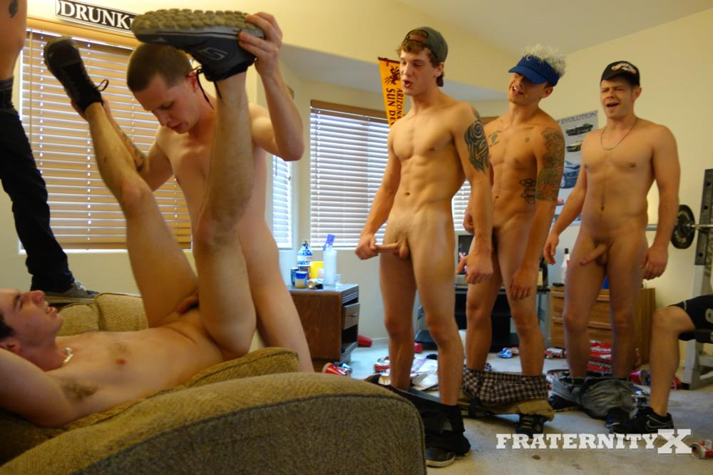 Fraternity X Straight Frat Guys With Big Cocks Barebacking A Tight Ass Amateur Gay Porn 34 Straight Frat Guys Barebacking A Tight Freshman Ass