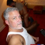 Macerick Men Cole and Hunter and Jason Barebacking Interracial Hairy Muscle Daddy Amateur Gay Porn 02 150x150 Maverick Men: Muscle Dads Spit Roasting A Twink Bareback