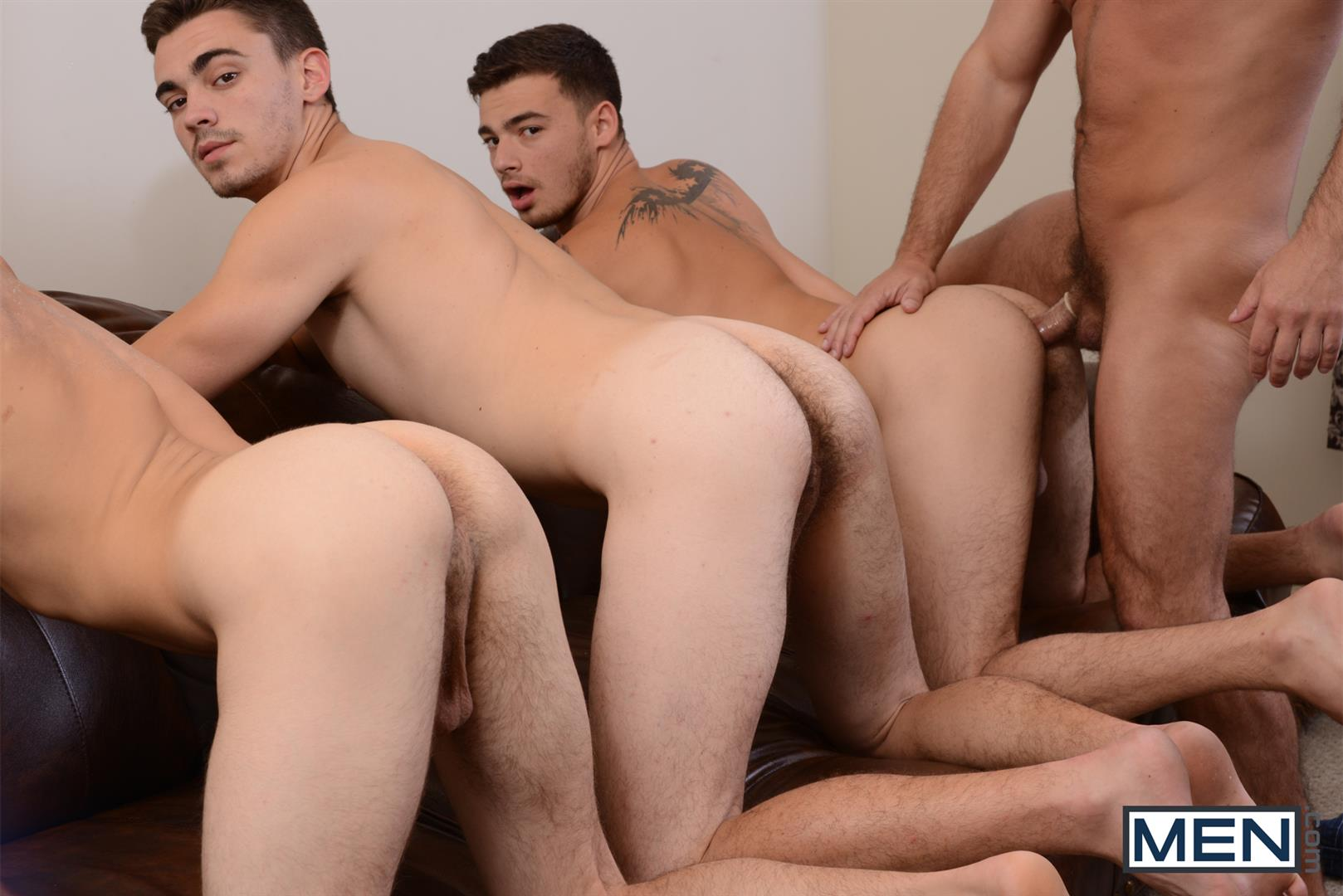 Men Jizz Orgy Asher Hawk and Dirk Caber and Johnny Rapid and Trevor Spade Triple Penetrated In the Ass Amateur Gay Porn 12 Stepfather Dirk Caber Gets TRIPLE Penetrated By His Stepsons