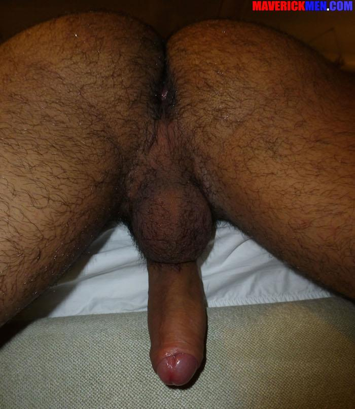 Maverick-Men-Little-Wolf-Hairy-Guy-With-Big-Uncut-Cock-Getting-Barebacked-By-Two-Daddies-Gay-Porn-08 Hairy Ass Young Guy Getting Barebacked By The Maverick Men
