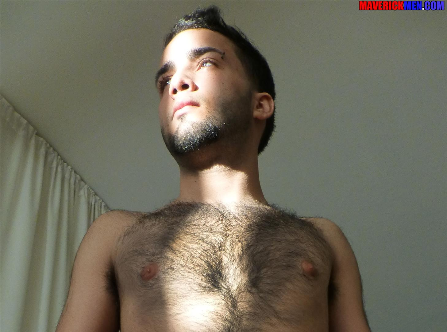 Maverick Men Little Wolf Hairy Guy With Big Uncut Cock Getting Barebacked By Two Daddies Gay Porn 10 Hairy Ass Young Guy Getting Barebacked By The Maverick Men