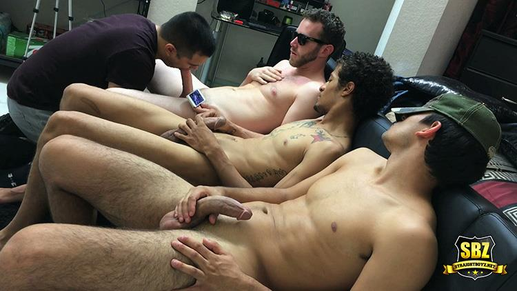 straight guy blown by amateur gay