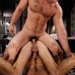Men Derek Atlas and Jimmy Fanz Hairy Muscle Hunks Big Cocks Fucking Amateur Gay Porn 15 150x150 Hairy Muscle Hunk Derek Atlas Bottoms For Big Cock Jimmy Fanz