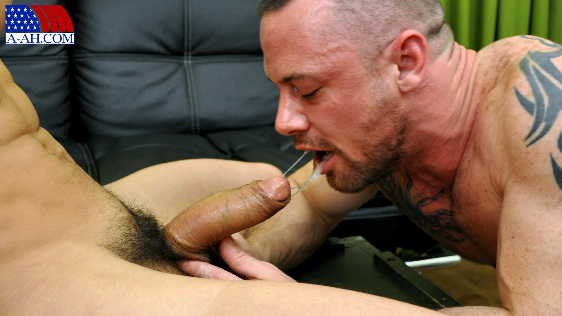 Military gay with big penis