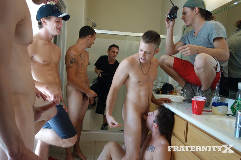 Fraternity X Frenchie Frat Guys Bareback Gang Bang In The Shower Amateur Gay Porn 04 Real Fraternity Boys Barebacking In The Frat Shower