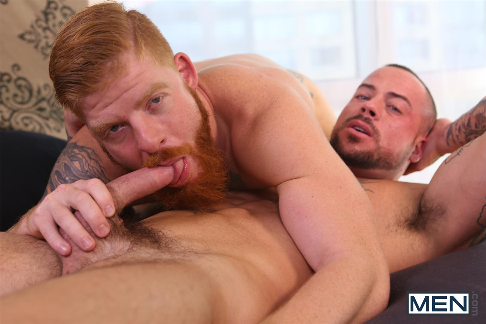 Men Bennett Anthony and Sean Duran Naked Redhead Muscle Guys Fucking Amateur Gay Porn 10 Bennett Anthony Fucking A Muscle Hunk With His Big Ginger Cock