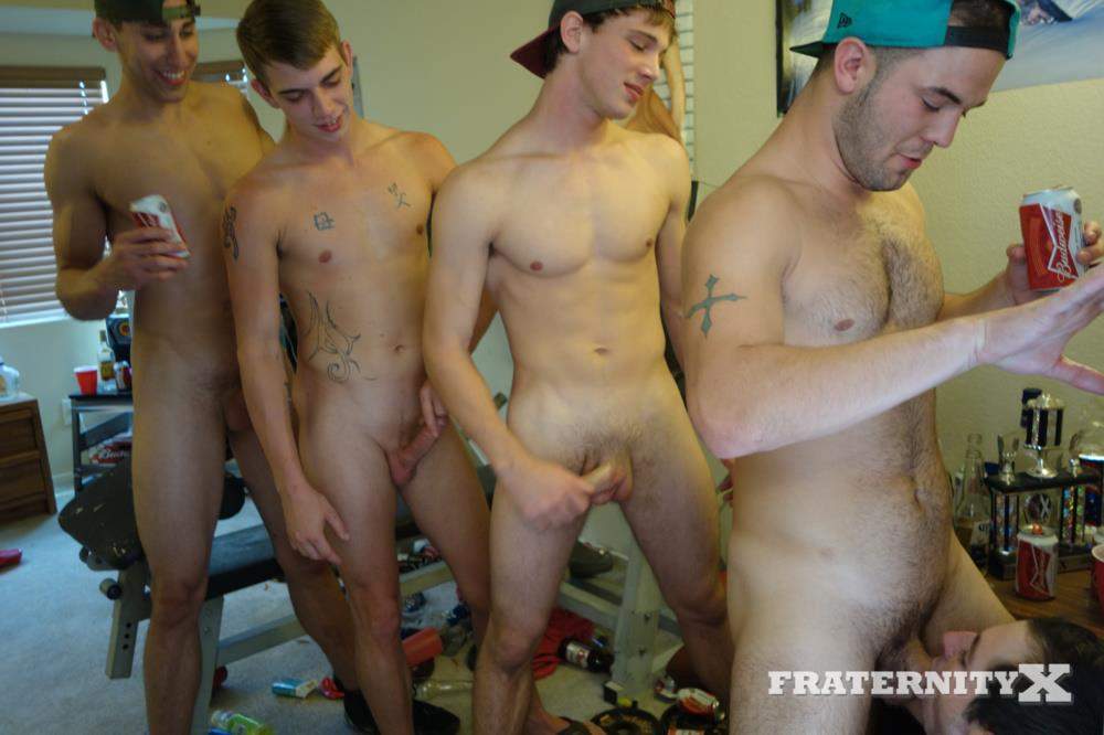 naked guys from college