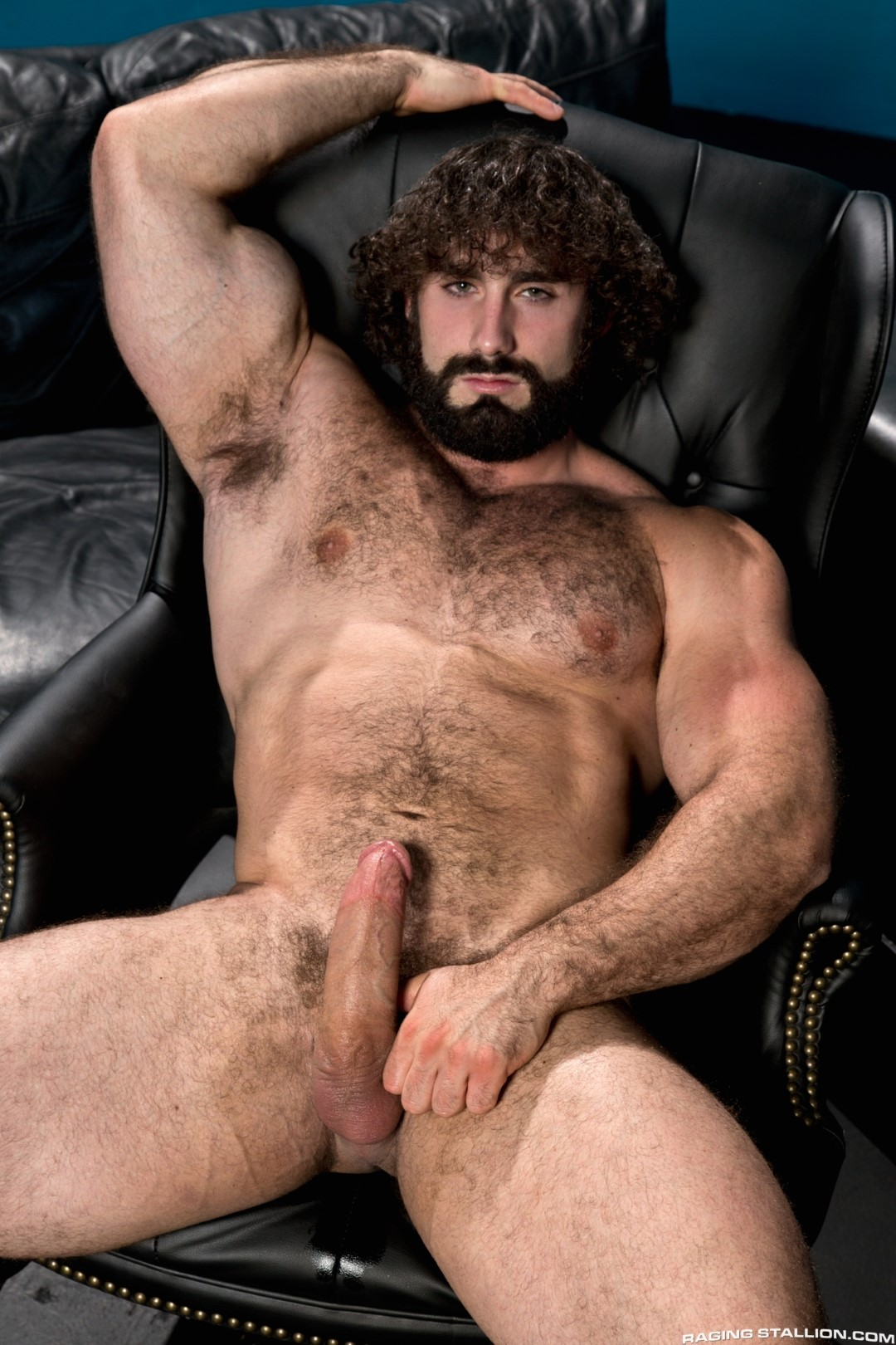 Hairy chest jock necessary