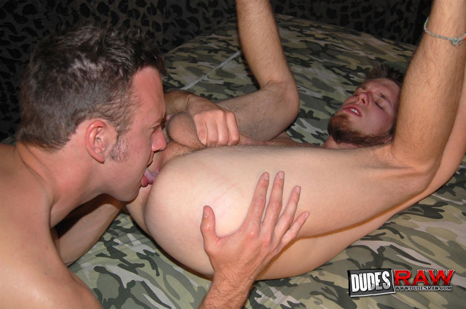Dudes Raw Jacques Satori and Zeke Stardust Army Guys Barebacking Amateur Gay Porn 16 Army Guys Discover Gay Sex and Bareback Fuck Each Other