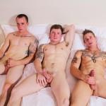 Active Duty Threeway Army Guys Bareback Sex Video Amateur Gay Porn 15 150x150 Big Dick Muscular Army Guys In A Bareback Threeway