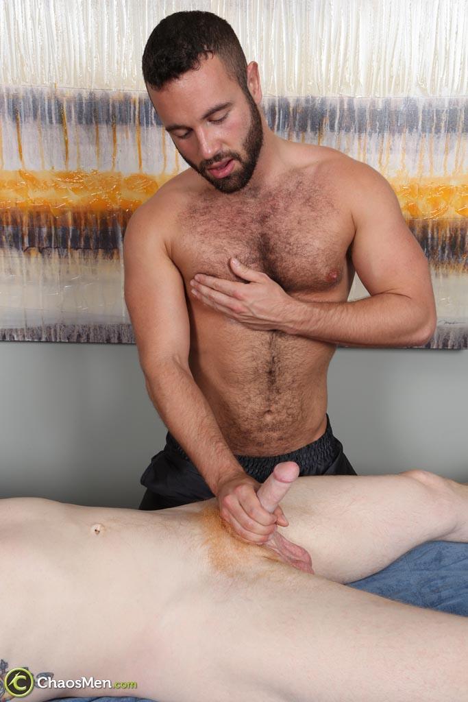 Rimmed Bear Gets It Raw