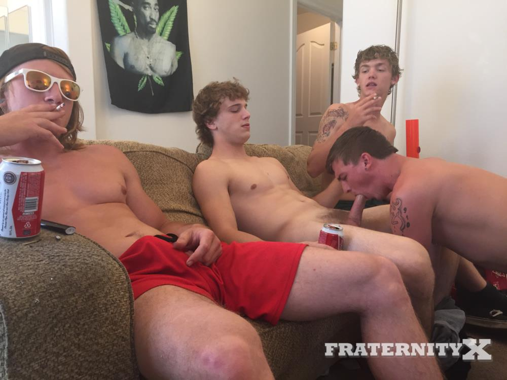 Gays Get Pounded By Frat Guys