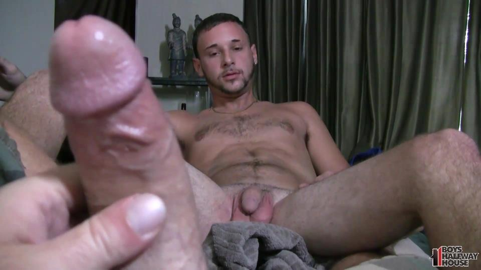Teen twink sucks a cock before getting fucked