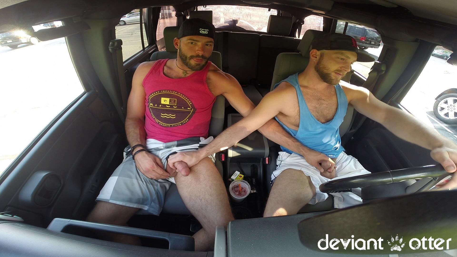 Deviant Otter Xavier Sucking Cock In Public Hairy Guys Amateur Gay Porn 04 Masculine Hairy Guys Sucking Each Others Cock In A Parking Lot