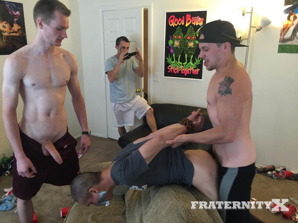 Hot jock sex party
