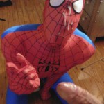 Maverick Men Spiderman With A Big Black Dick Bareback Threesome Amateur Gay Porn 13 150x150 Happy Halloween... Did You Know That Spiderman Has A Big Black Dick?