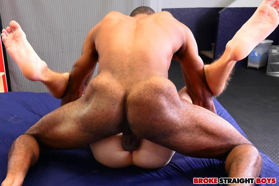 Broke Straight Boys Brice Jones and Chandler Scott Interracial Bareback Sex Amateur Gay Porn 16 Straight White Boy Takes A Big Black Cock Up The Ass For Cash
